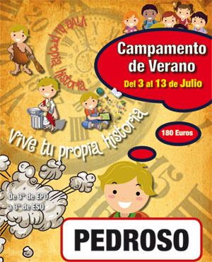 Campamento en Pedroso organizado por la Parroquia San Martín de Porres de Burgos