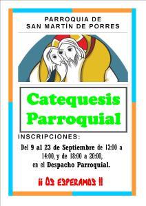 Cartel Catequesis