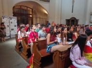 Momento de Catequesis en Praga