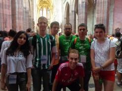 En la catedral de Praga