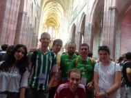 En la preciosa catedral de Praga