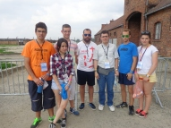 En el campo de concentración de Auschwitz