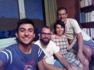 Familia de acogida de Lorenzo