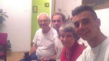 Familia de acogida de Guillermo