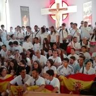 En la Parroquia de San Casimiro de Leszno